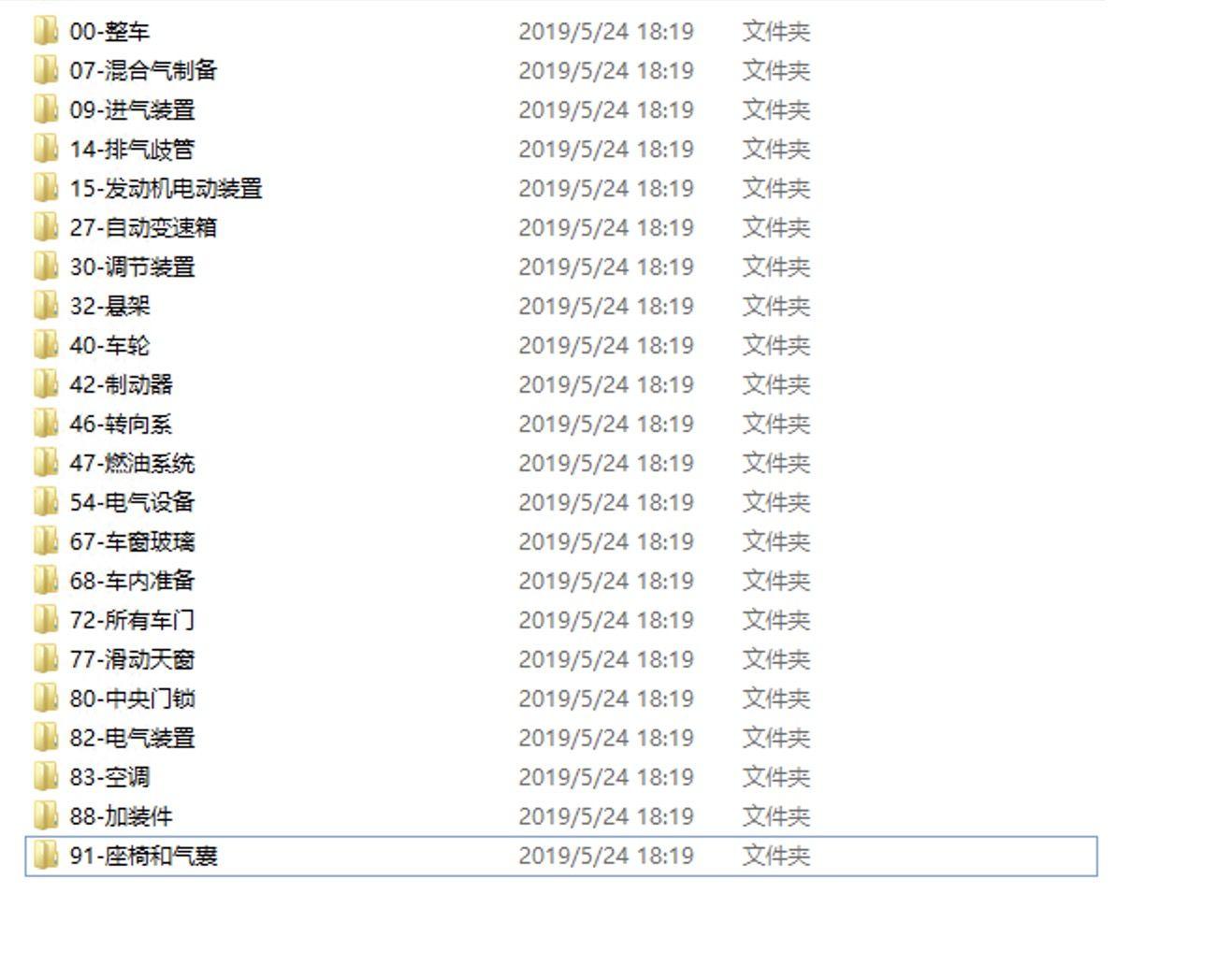 2014奔驰E级W213全车电路图维修手册