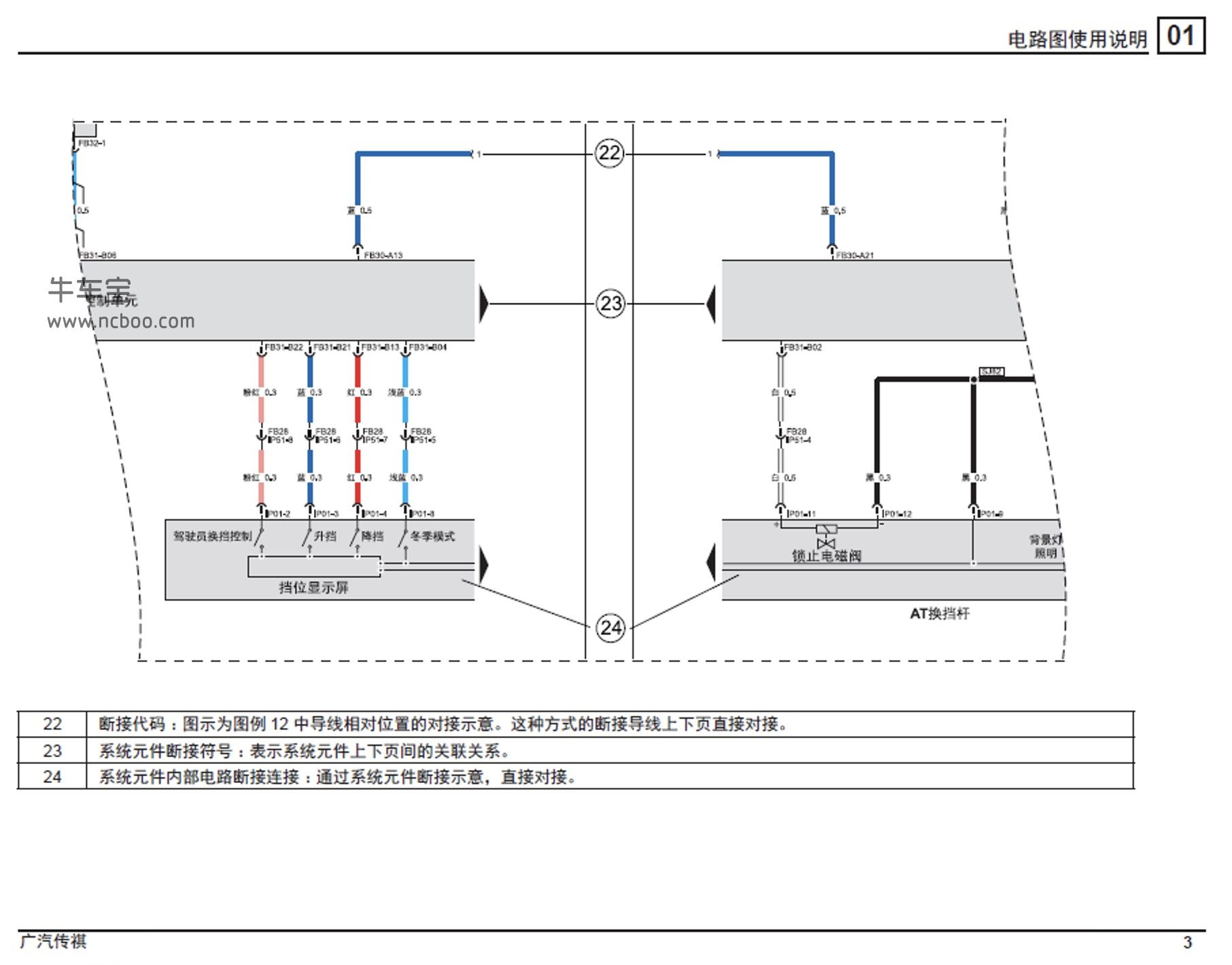 2015-2017款广汽传祺GA5原厂电路图手册下载