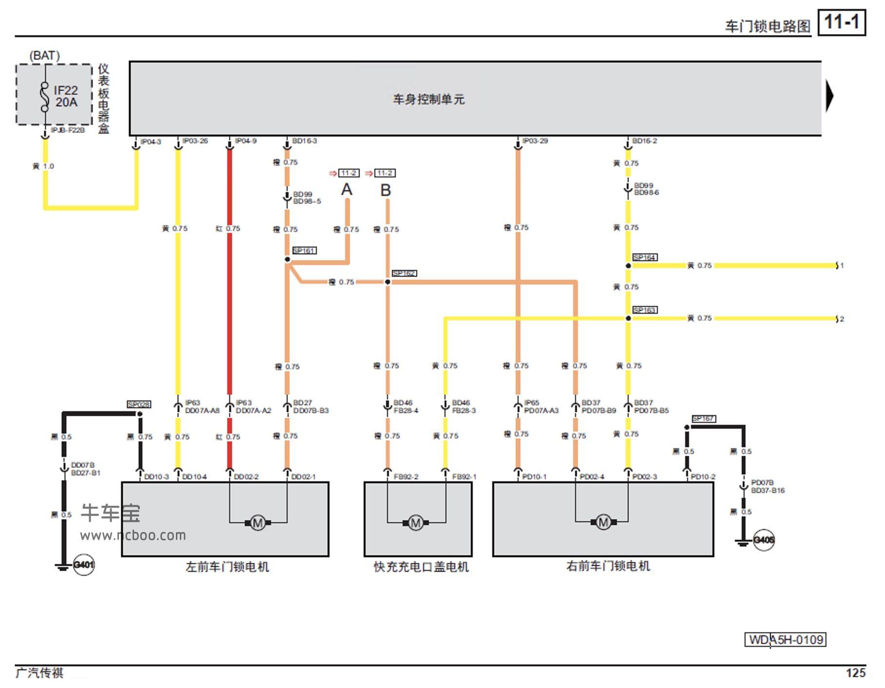 2017-2019款广汽传祺GE3(新能源)原厂维修手册和电路图及故障码