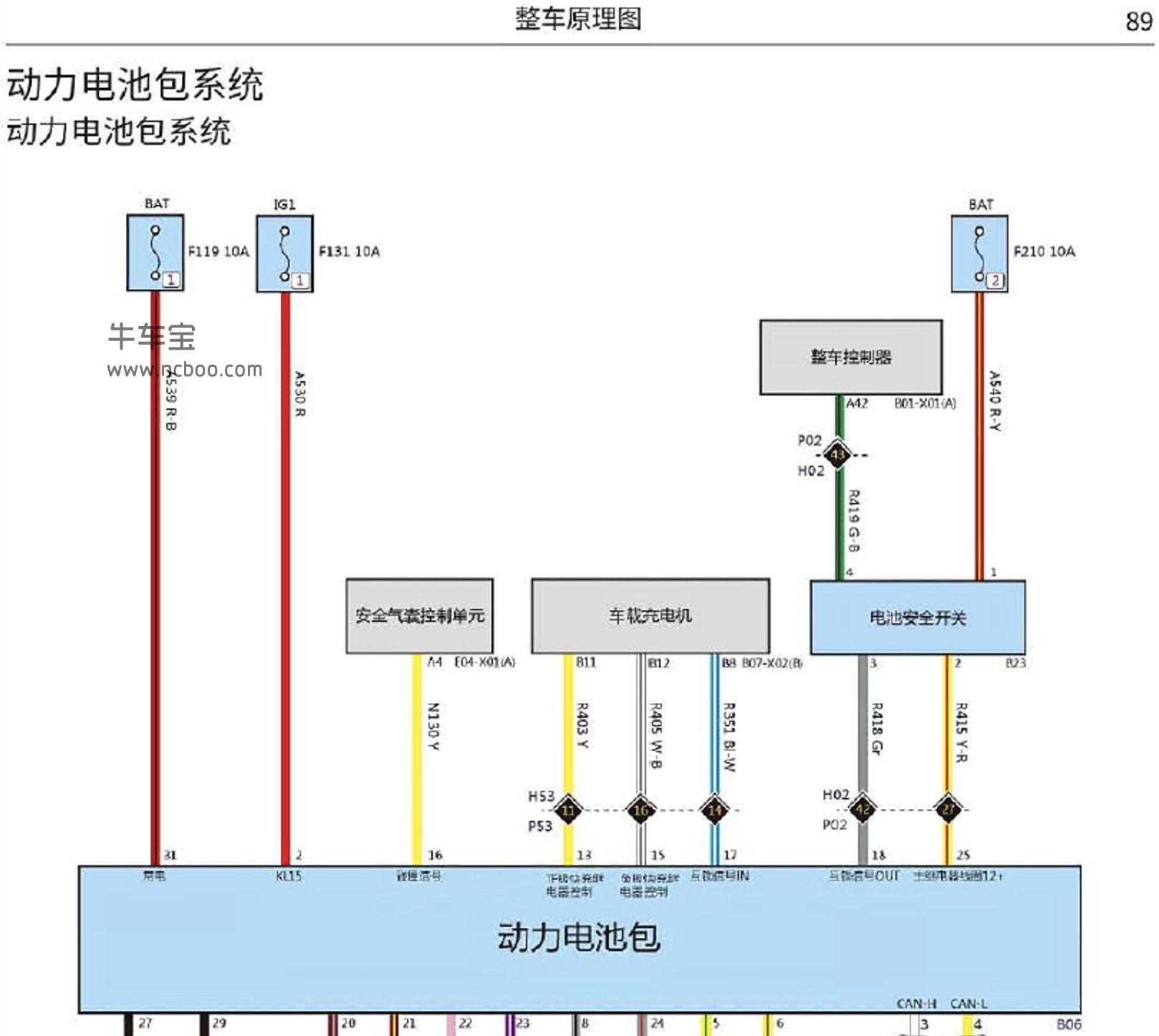 2018-2019款长城欧拉R1纯电原厂电路图资料下载
