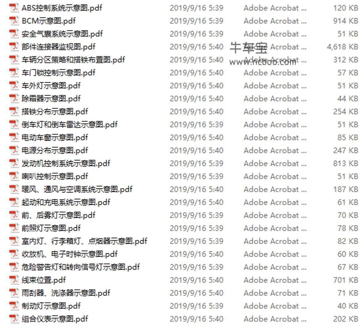2012款宝骏乐驰原厂电路图资料下载