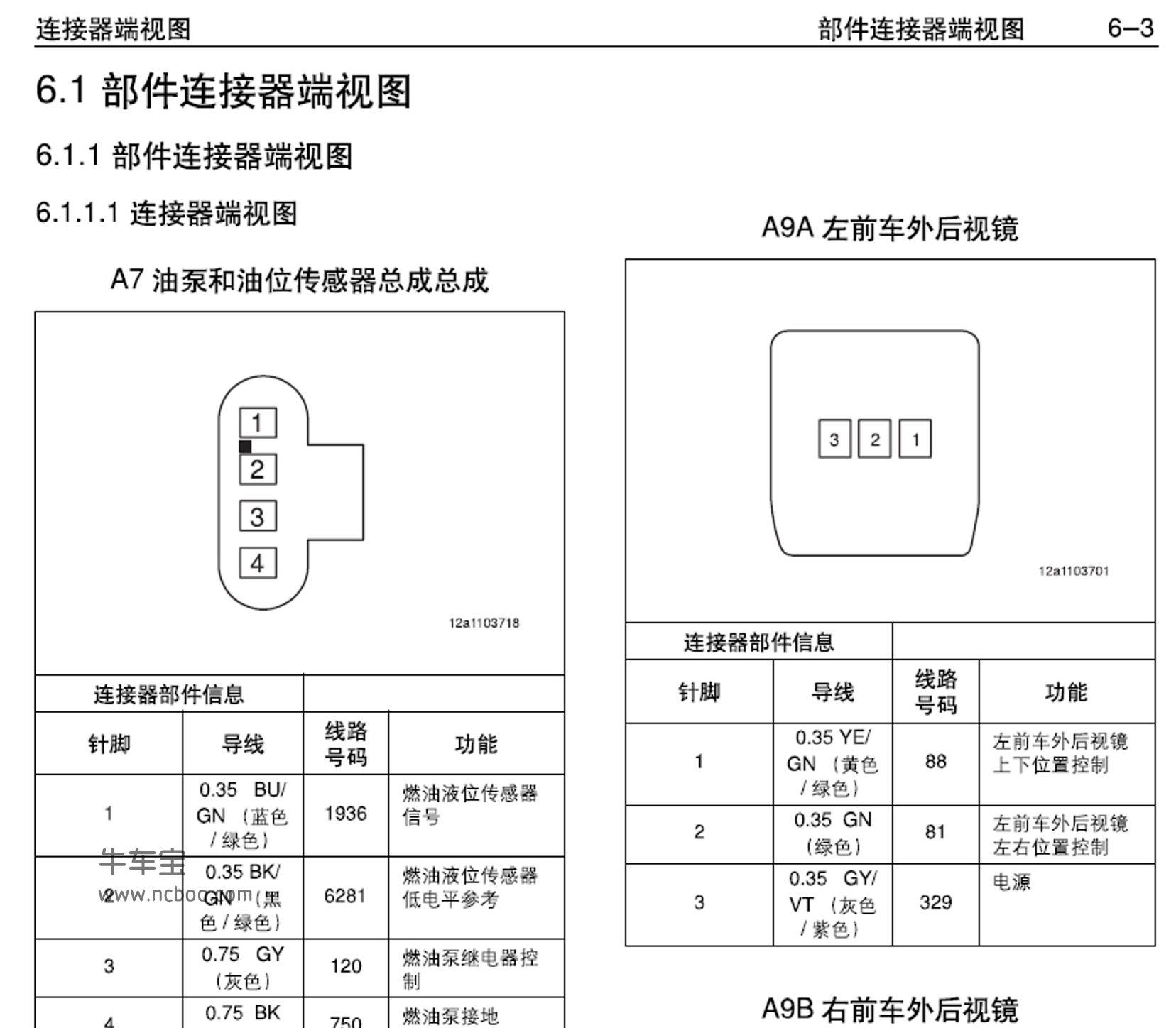 2015-2016款宝骏610原厂电路图资料下载