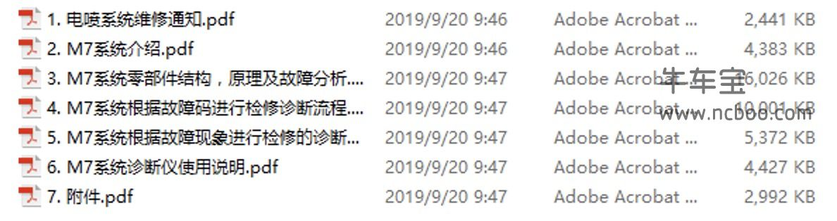 2011款中华骏捷Cross原厂维修手册资料下载