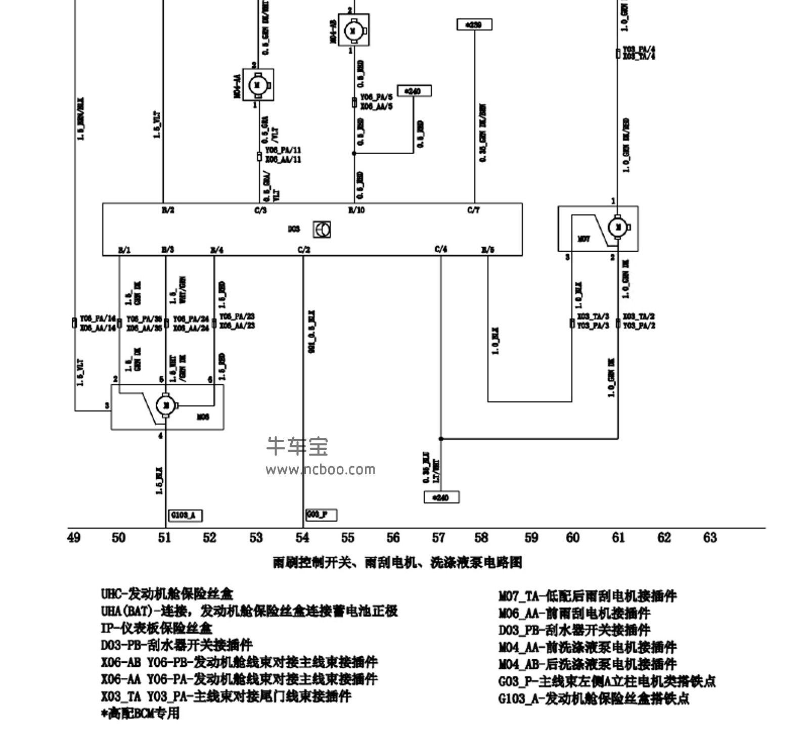 2015-2017款华晨中华V3原厂电路图资料下载