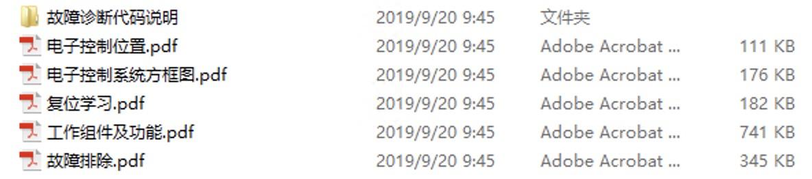 2017-2019款中华H3原厂维修手册和电路图及故障码下载