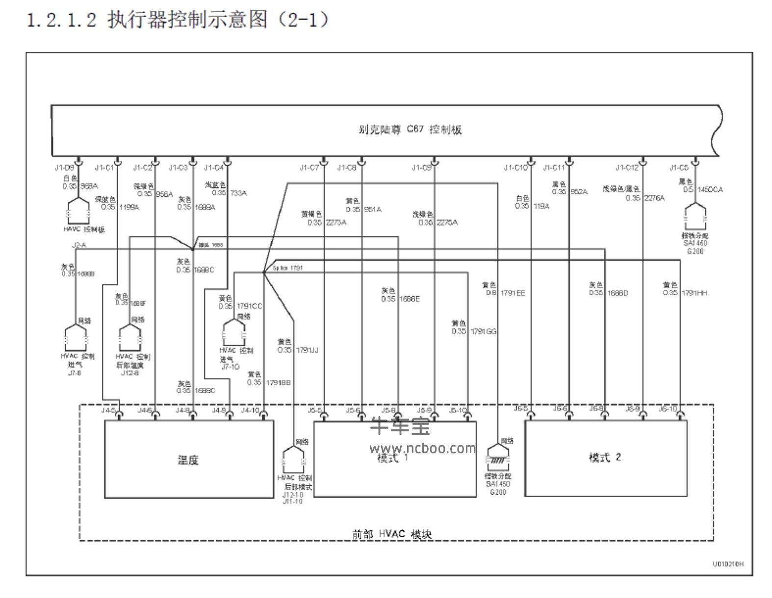 2011-2015款别克GL8原厂维修手册和电路图下载