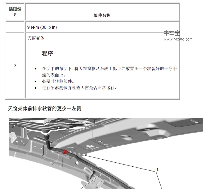 2018款别克GL6原厂维修手册和电路图下载