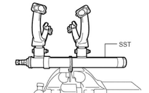 丰田皇冠后悬架 后减振 后上臂 后悬架横梁维修手册
