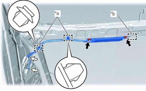 丰田皇冠音频 视频系统 扬声器 天线维修手册和线路图