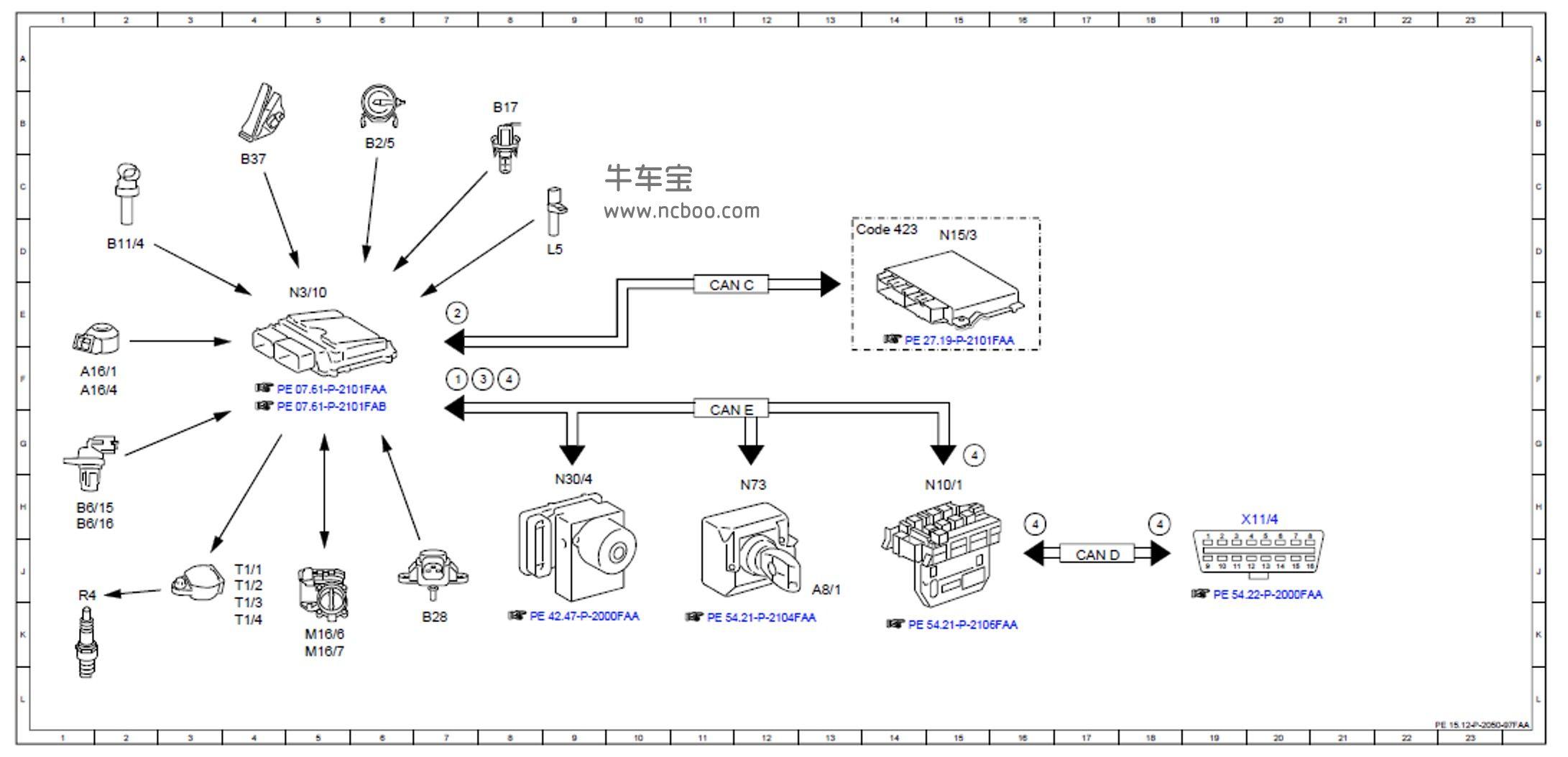 2011-2012款奔驰C180L维修手册和电路图资料