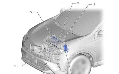 丰田RAV4 6ZR-FAE发动机控制系统 点火 节气门 曲轴维修手册