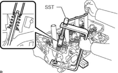 丰田RAV4 6ZR-FAE发动机机械部分 气缸盖 曲轴维修手册